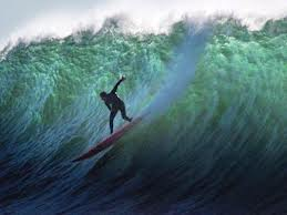 mavericks, surfer